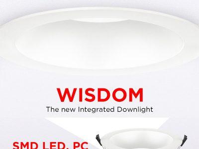 anti-glare integrated led downlight